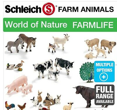 Schleich Farm/Countryside Models Choice of 8 Animals NEW with Tags sealed 2016