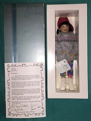 "Kish & Company Porcelain Doll ""Andie"" 1993' Limited Edition 507/1500. Helen Kish"