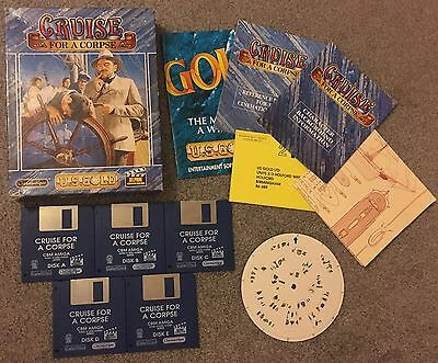 Cruise for a Corpse amiga game