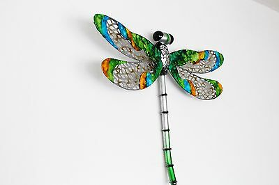 Handcrafted Metal Wall Decoration Large Hang Dragonfly Present Home Decor