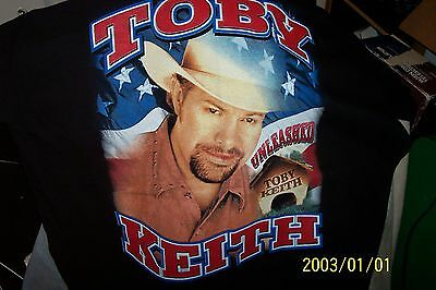 Toby  Keith Unleashed Tour Size Vintage Large