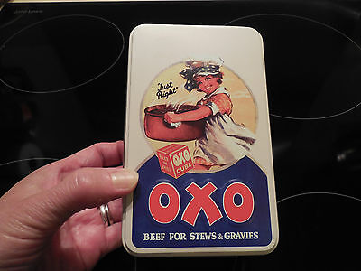 Vintage Style, OXO Tin with 18 Beef Stew Cubes, Limited Editions, BBE May, 2017
