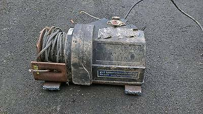 Electric Heavy Duty Trailer Winch 4X4 Off Road Buggy Landrover Spares Or Repairs