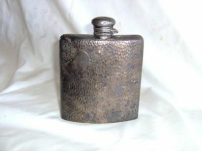 Antique Meriden B. Company Silver Flask