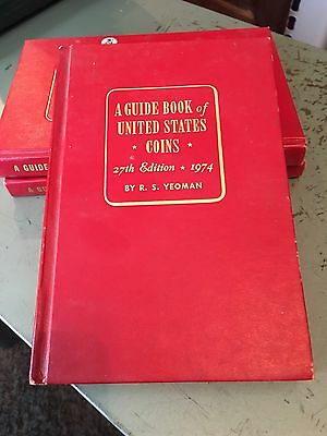 A Guide Book To United States Coins 27th Edition,1974