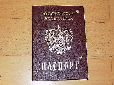 Canceled Expired Russia Russian Passport 2006