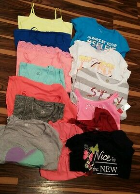 Girls 10/12 shirt lot