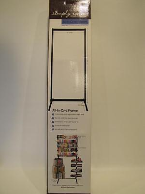 NIB Get Organized! Simply Renee CLIP IT UP Complete Floor Set All-In-One Frame