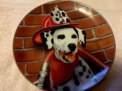 Danbury Mint Collective Plate Sparky the Dalmatian !!