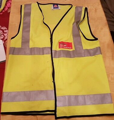 Hiviz bus drivers waistcoat from East Thames Buses