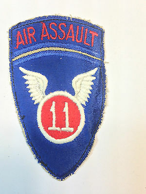 US 11th Air ASSAULT Patch (Airborne Issued)
