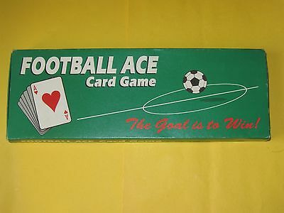 Football Ace Card Game Vintage Retro Soccer Playing Complete Bear 1993