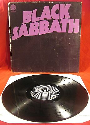 "Black Sabbath - Master Of Reality LP. Rare 12"" Vinyl Vertigo Swirl UK 1971"