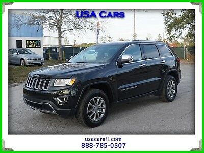 2016 Jeep Grand Cherokee Limited 2016 Jeep Grand Cherokee Limited 3.6L 4WD V6 24V Automatic 4WD SUV