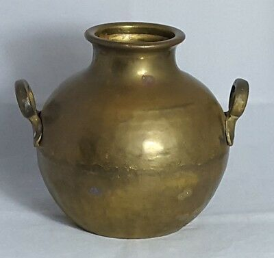 Beautiful Vintage Solid Brass Vase.