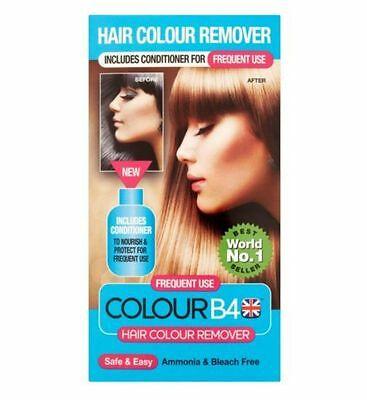 Medichem Colour B4 Hair Colour Remover Contains 5 Parts 'Frequent use'.