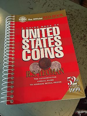 A Guide Book To United States Coins 52nd Edition, 1999