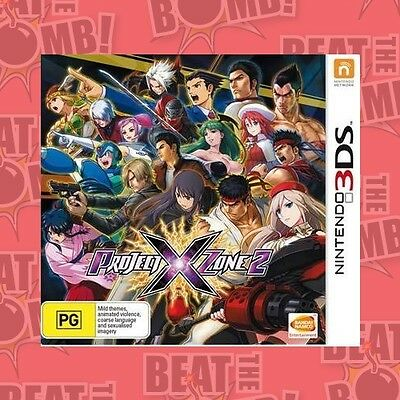 Project X Zone 2  - 3DS game - BRAND NEW