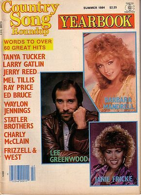 COUNTRY SONG ROUNDUP Yearbook Summer 1984