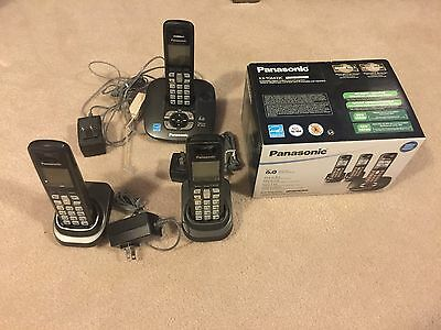 Panasonic Kx Tg6433C 6.0 Cordless Phone System - Like New In Box!