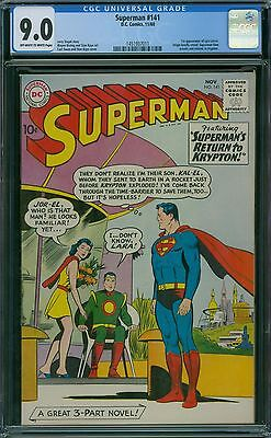 Superman 141 CGC 9.0 - OW/W Pages