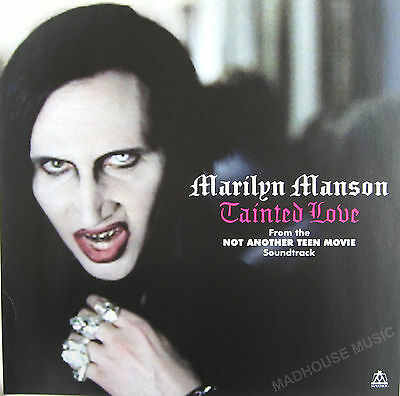 MARILYN MANSON Tainted Love UK PROMO ONLY Display Card POSTER In-store Only