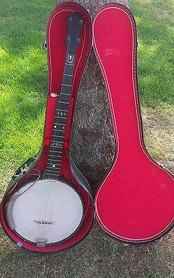 1895 Elias Howe Superbo  5 String Banjo