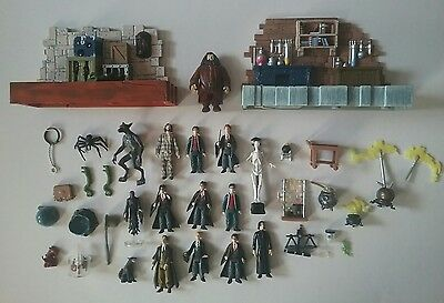 Mattel Harry Potter Mini Figure Lot Playsets Magical Creatures Potions Class +