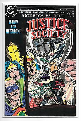 Justice Society #4 (Apr 1985, DC)