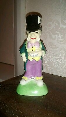 Beswick/Paul Cardew Alice in Wonderland figure - the Mad Hatter with tin