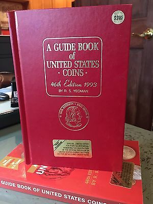 A Guide Book Of United States Coins 46th Edition,1993