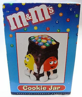 M&Ms Brown Bag Cookie Jar By Benjamin & Medwin, Official Licenced - New In Box