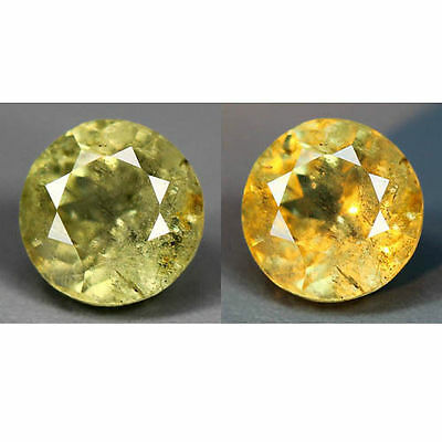1.58  Cts_World Class Dream Gemstone_100 % Natural Color Change Diaspore_Turkey