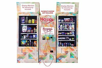 Refrigirated Grocery Vending Machine