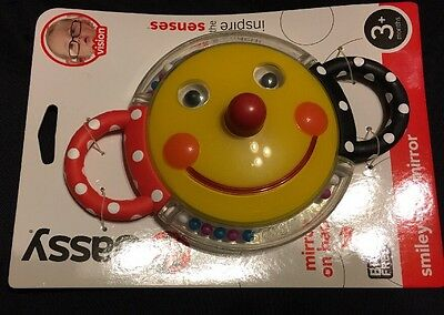 Sassy Smiley Mirror NWT