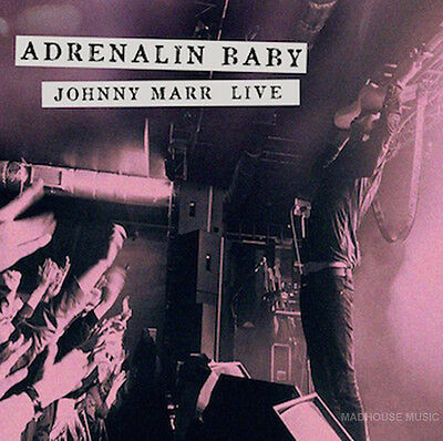 Johnny Marr The SMITHS LP x 2 Adrenalin Baby LIVE BLACK VINYL + Poster + Promo