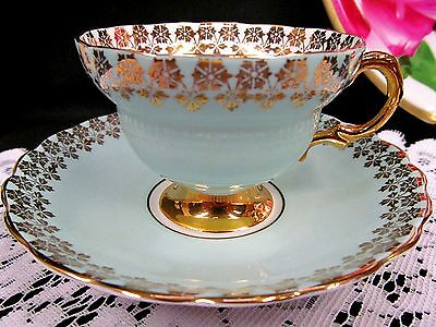 queen anne tea cup and saucer floral ENGLAND TEACUP PATTERN