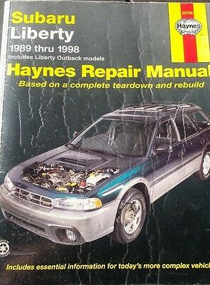 Subaru Liberty 1989-1998 Haynes Repair Manual