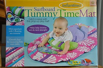 Baby play mat, Infantino Surfboard Tummy Time Mat, play mat for infants