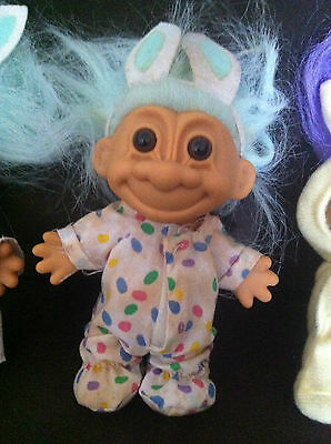 Troll Doll Russ Vintage Rare Easter Bunny Wacky Wabbit Toy Collectable