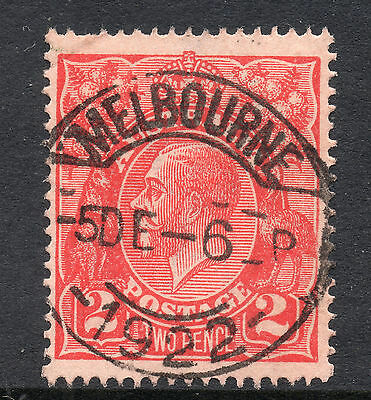 AUSTRALIA = GV 2d `Head`. SG63 / 63a. Used. Unchecked for Shades, etc. (ad)