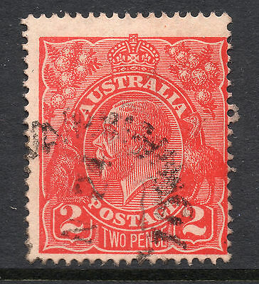 AUSTRALIA = GV 2d `Head`. SG63 / 63a. Used. Unchecked for Shades, etc. (an)