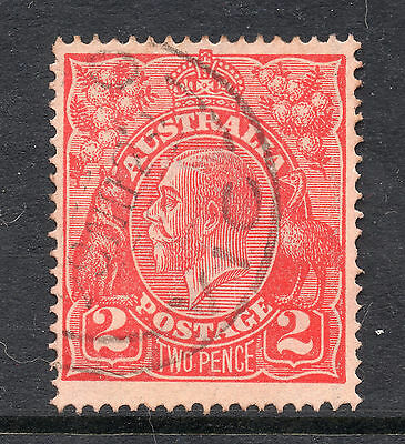 AUSTRALIA = GV 2d `Head`. SG63 / 63a. Used. Unchecked for Shades, etc. (bd)