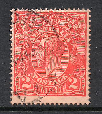 AUSTRALIA = GV 2d `Head`. SG63 / 63a. Used. Unchecked for Shades, etc. (ax)