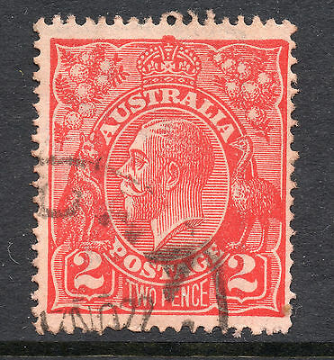AUSTRALIA = GV 2d `Head`. SG63 / 63a. Used. Unchecked for Shades, etc. (ao)