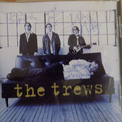 """CD signed by""""The Trews"""" band members Canadian hard rockband from Antigonish, NS"""