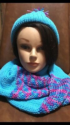 Infinity Scarf And Hat Set.