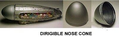Dirigible Nose Cone For Glass Candy Container