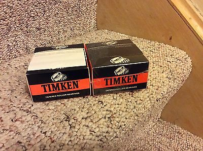 Two TIMKEN TAPERED ROLLER BEARING CO. Post-It Notes From Employee Desk