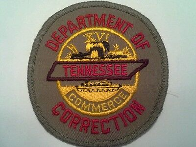 Tennessee Department of Corrections Patch
